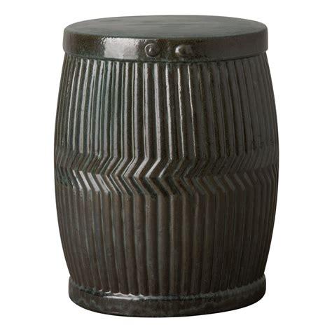 large dolly tub ceramic garden stool