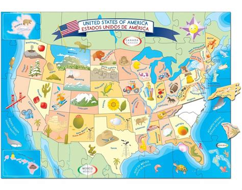 usa map puzzle usa map floor puzzle smart play educational toys