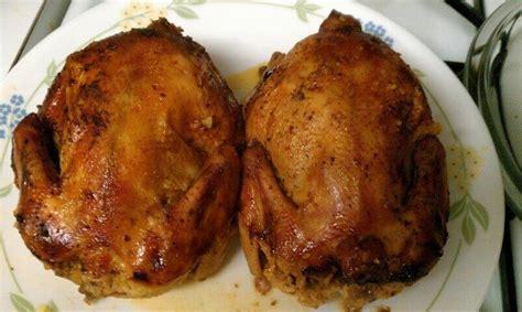 crock pot stuffed cornish game hens with orange sauce recipe from cdkitchen