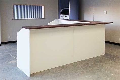 trading desk furniture for sale trade counter sales desk with white front reception