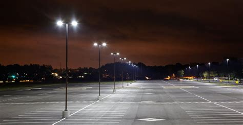 commercial parking lot lighting parking lot lighting commercial light pole maintenance