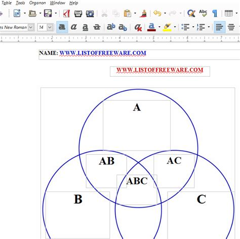 how to make venn diagram in word 10 best free venn diagram maker for windows