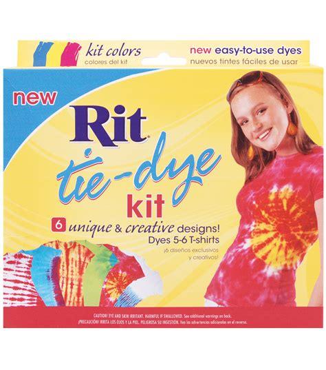 rit tie dye kit blue yellow jo