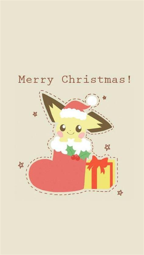 merry christmas  images anime christmas christmas pokemon pikachu wallpaper