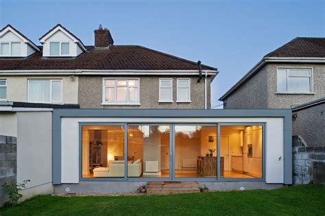 2 bedroom house extension ideas change semi detached ground floor layout to open plan