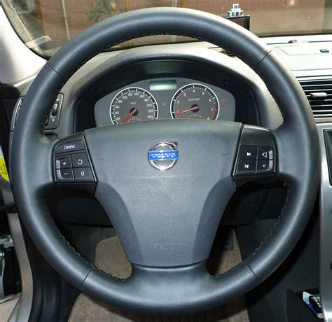 volvo steering steering wheel recovering skin for volvo s40 v50 c30