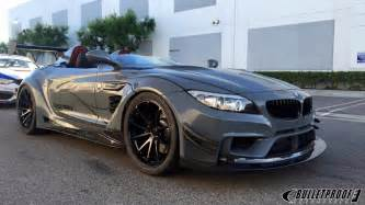 Bmw Batmobile This Bmw Z4 Gt Continuum By Bulletproof Automotive Will