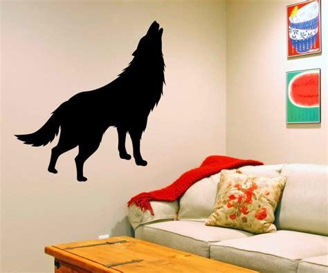 Aufkleber Indianer Und Wolf by Wandtattoo Indianer Western Indian Wolf Raubtier Aufkleber
