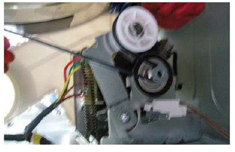 samsung dryer belt replacement diagram solved samsung dryer dv209aew xaa how does the belt go