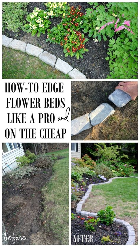 Garden Flower Bed Edging The Border For Your Beds Defining A Gardens Edge With Inexpensive That Fit Any