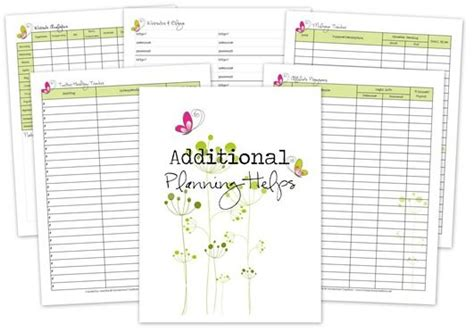 free printable blog planner pages blog planner printables organize your blog planning
