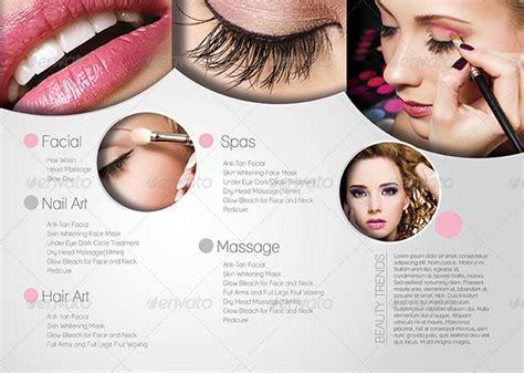 beauty parlour brochure templates 35 free jpg psd
