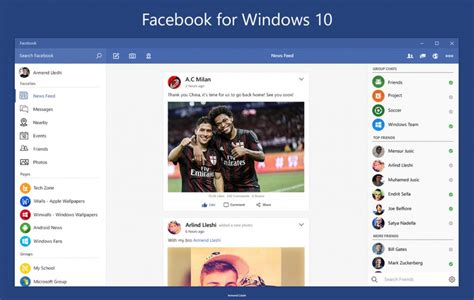facebook themes install download facebook for windows 10
