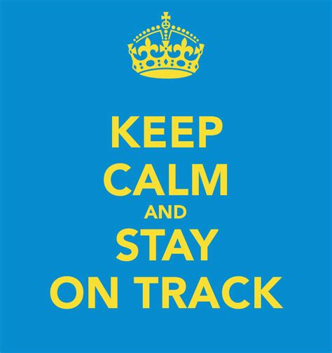 Stay On by Defeating Dis Track Tion 4 Ways To Stay On Track In 2014