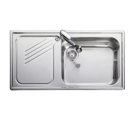 leisure glendale 1 bowl sink sinks kitchen accessories leisure proline pl9851l 1 0 bowl 1th stainless steel inset
