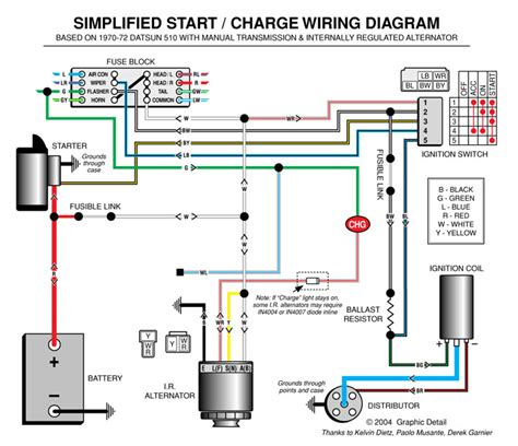 car electrical diagram automotive alternator wiring diagram boat electronics