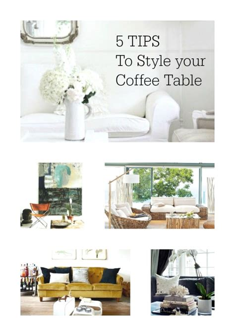 How To Style Your Coffee Table 5 Tips To Style Your Coffee Table Trendsurvivor