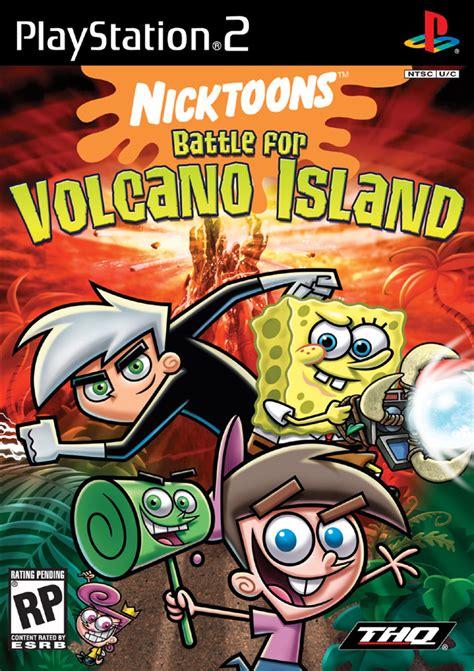 spongebob squarepants lava l nicktoons battle for volcano island sony playstation 2