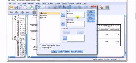 spss tutorial multinomial logistic regression spss multinomial logistic regression 2 of 2 youtube