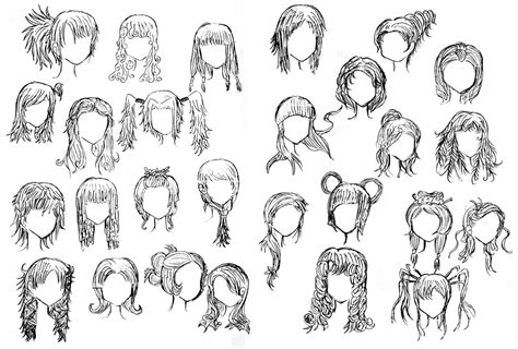 anime hairstyles how to draw how to draw chibi hairstyles for girls google search