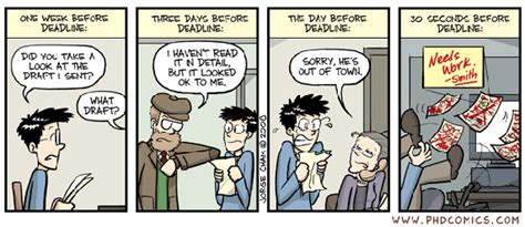 phd comics advisor bubble how to politely ask my phd advisor to review my work