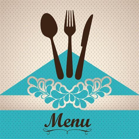 restaurant cover layout restaurant menu cover vector