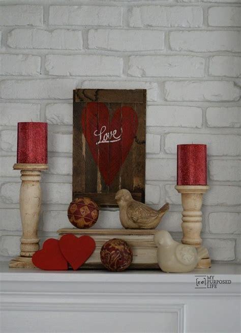 valentines day diy decor  repurposed life