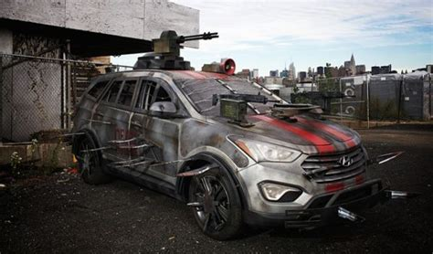 survival car survival car the hyundai santa fe zsm randommization