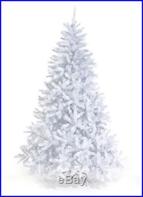 pre lit 8 foot queen spruce white artificial christmas