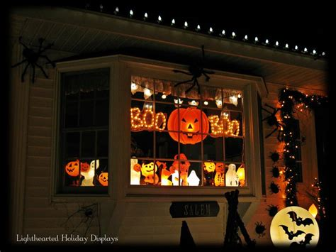 lighted halloween window decorations 30 best images about halloween window display ideas on