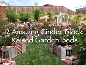 How To Build A Raised Garden With Concrete Blocks - 12 amazing cinder block raised garden beds off grid world