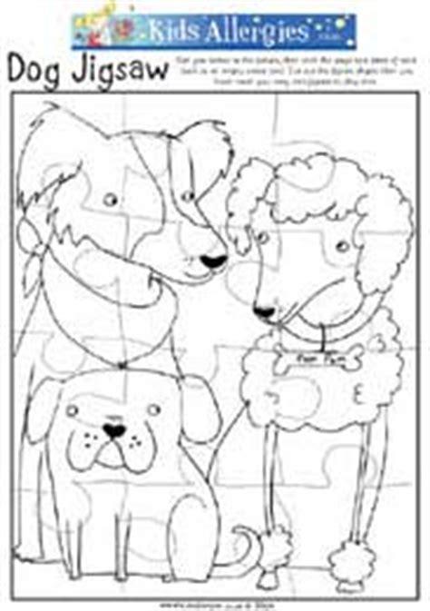 printable dog puzzle make your own dog jigsaw