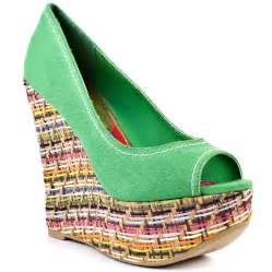 colorful wedge sandals colorful wedge shoes heels colorful wedge footwear