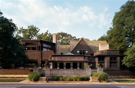 frank homes wright home and studio modern exterior chicago by