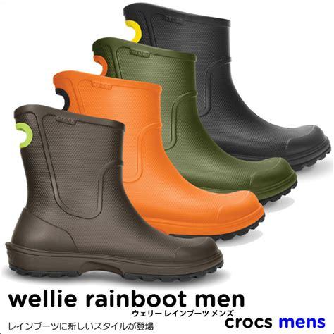 crocs wellie boot mens crocs wellie rainboot boots mens