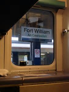 Sleeper To Fort William by Awaiting Departure From Fort William In 169 Lucas Cc