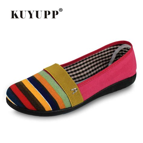 shoes manufacturer 2016 new brand striped shoes summer style canvas