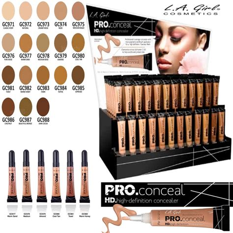 Original 100 La Pro Hd Bb Foundation l a cosmetics pro conceal hd concealer 24 shades ebay