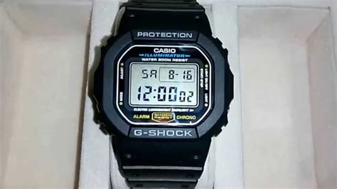 Dw Date casio g shock dw 5600e 1v date change