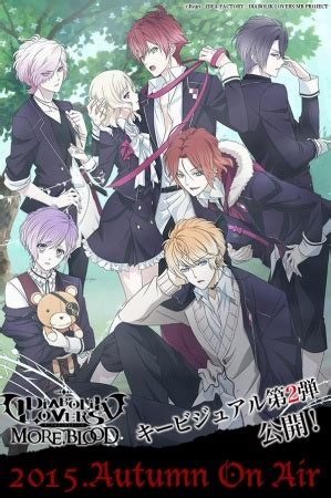 Diabolik Lovers Anime Pictures Diabolik Lovers More Blood Diabolik Lovers Ii More Blood