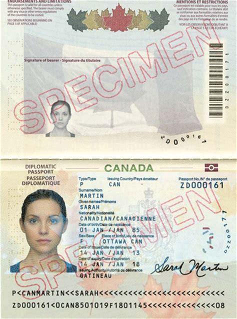canadian passport template canadian passport template www pixshark images