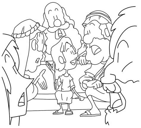 coloring pages boy jesus in the temple young boy jesus in the temple coloring page luke 2 41 52