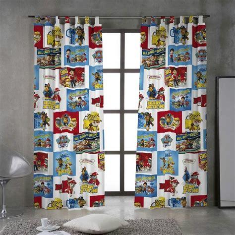 cortinas trabillas cortina con trabillas paw patrol 2 casaytextil