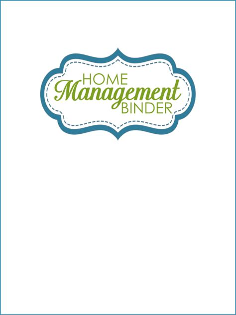 home management binder templates free complete 60 page home management binder organizing homelife