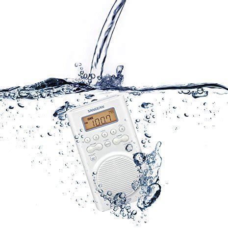 Bathroom Accessories Radio Sangean H205 Am Fm Weather Alert Waterproof Shower Radio