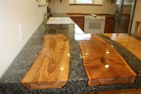 Recycled Countertop Materials projects earthshare construction llc