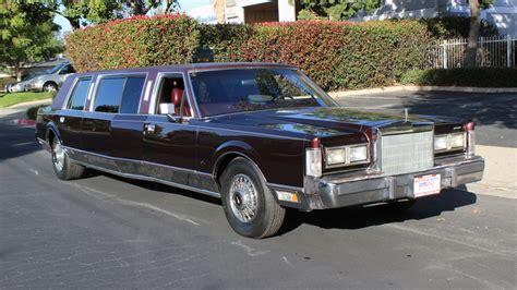 town car limousine 1988 lincoln town car limousine f186 anaheim 2015