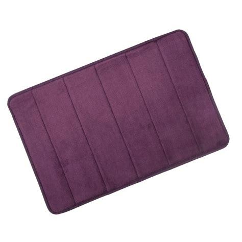 Non Slip Bathroom Mat by Microfibre Memory Foam Bathroom Shower Bath Mat With Non