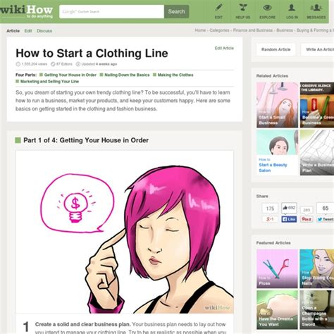 how to start a clothing line 7 steps pearltrees