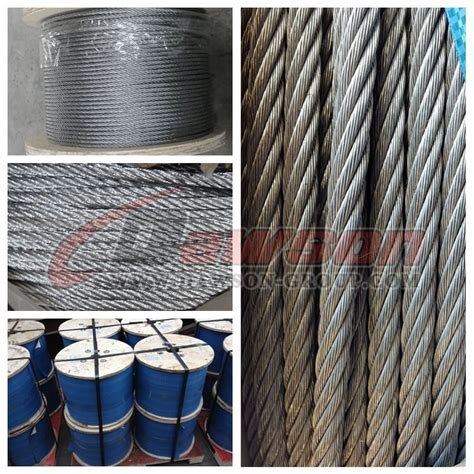 steel wire rope manufacturers steel wire rope construction 6 215 19 fc 6 215 19 iwr 6 215 19 iws china manufacturer supplier